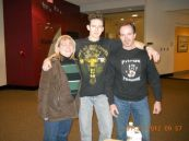 Director Kelly, Dustin Pari, and Director Don