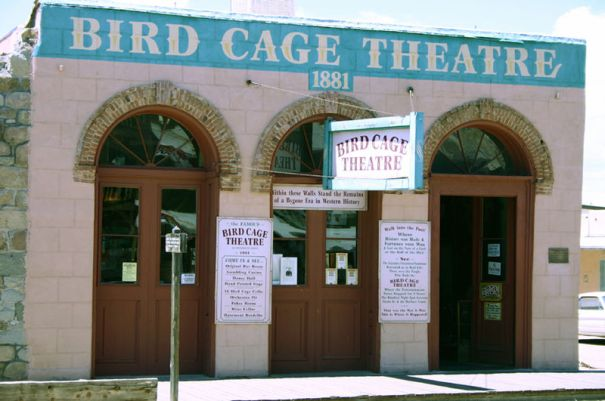 Bird Cage Theatre in Tombstone, AZ