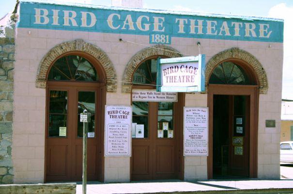 Bird Cage Theatre in Tombstone, AZ