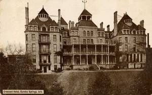 Arkansas' Crescent Hotel