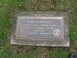 J.J. Sturgus Grave