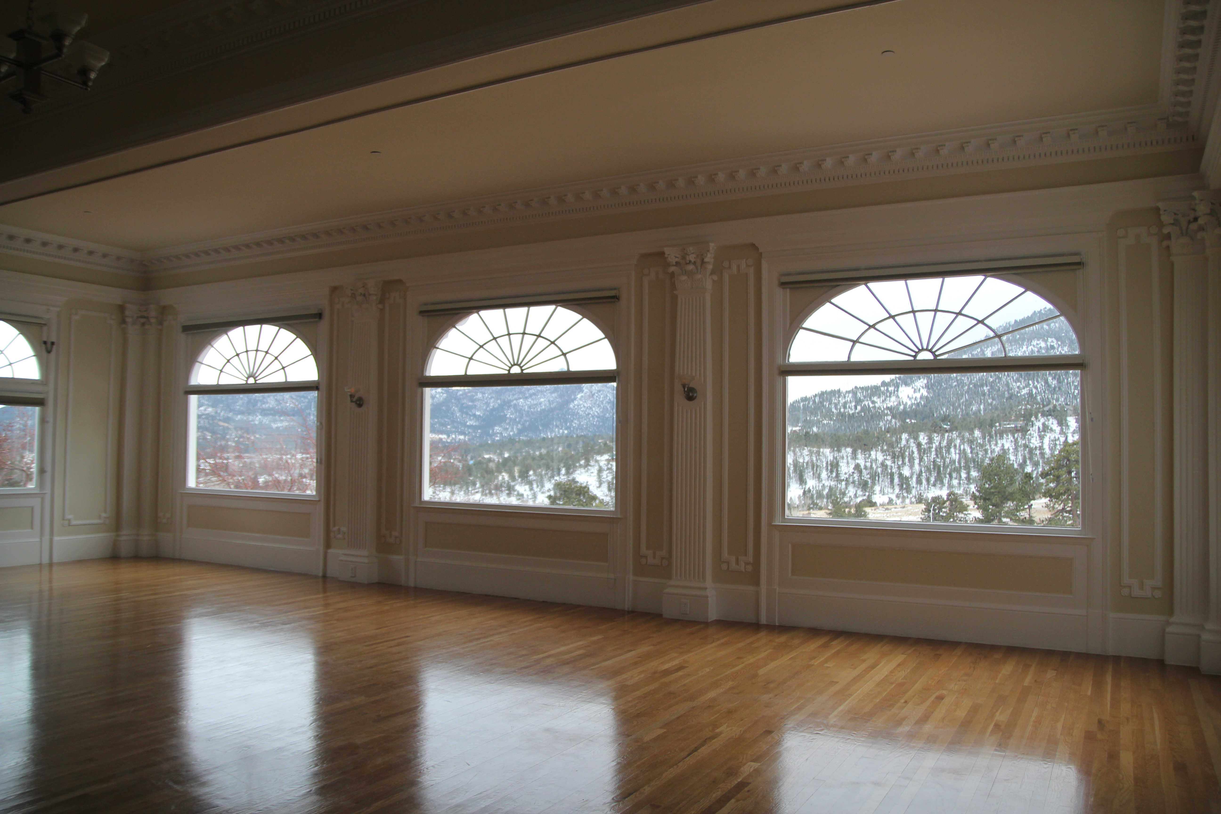 Music Room And Rockie Mountains