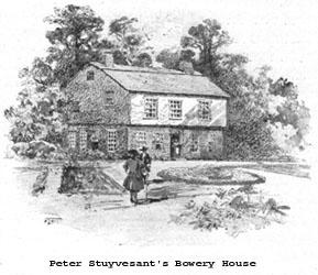Peter Stuyvesant's home