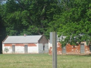 Slave quarters on the Magnolia Plantation c. 2010