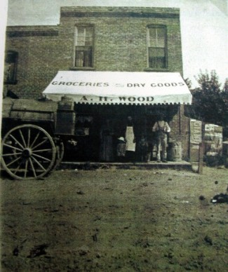 A. H. Wood general store 1908