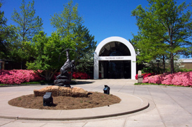 Gilcrease Museum Entrance`