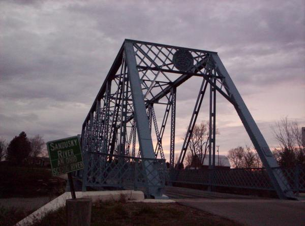 Allegedly haunted Tindall bridge in Fremont