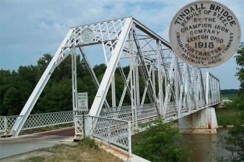 Tindall Bridge used to be white