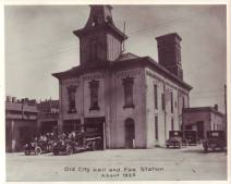 City Hall and Fire Station Circa 1923