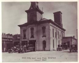 City Hall and Fire Station Circa 1923
