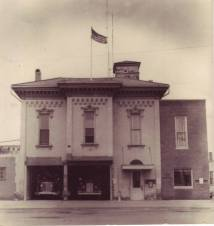 Fire Department at 123 W. North Street Circa 1965