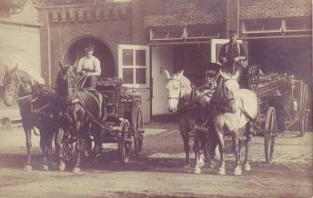 Fostoria Fire Department Circa 1900